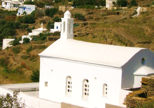 Country Church in Tinos