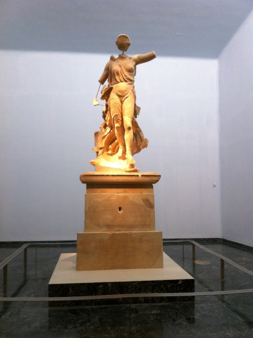 The famous Nike of Paeonios