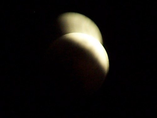 A Parial Lunar Eclipse