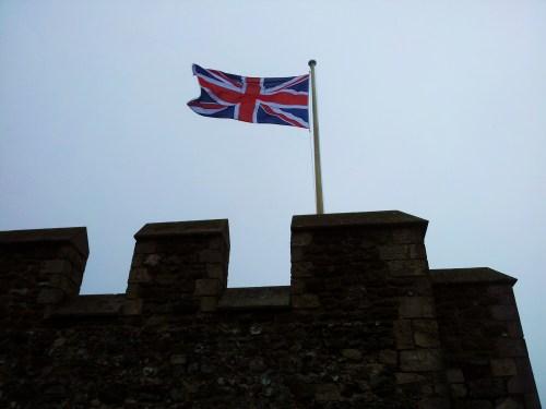 The Castle was Magnificent even under heavy rain ...