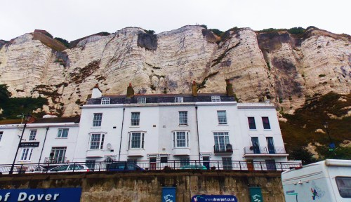 Dover,The White Cliffs and the Seagull ...