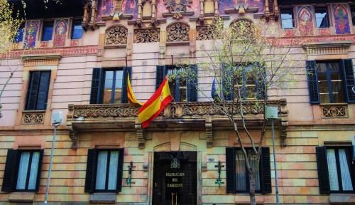 Elaborate Facade and Art Nouveau