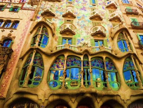 Gaudi Elaborate Architecture