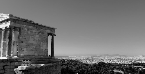 View over the city of Athens from the Acropolis