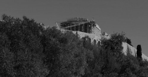 The Acropolis on the Sacred Hill