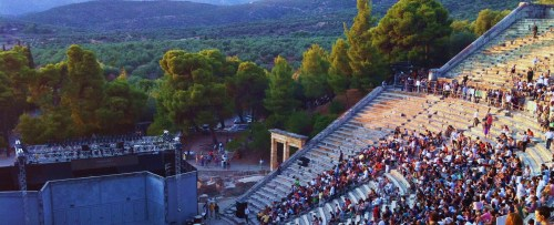 The Old Vic Theatre from London to Epidaurus