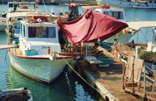 Friendly boats ...