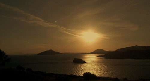 Camille was enthralled by the golden hues and the warmth of the Greek Friendship ...
