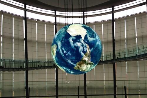 """Geo-Cosmos"" - the Blue Shpere"