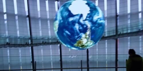 The Dark Shadow under the Blue Sphere ...