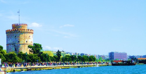 Sunday Morning in the city of Thessaloniki