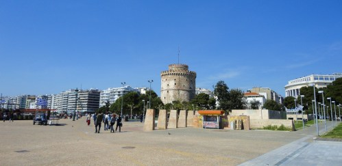 Oh,the White Tower,Thessaloniki's landmark